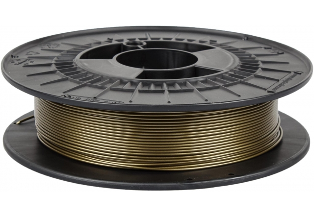 PETG metal edition - froggy gold (1,75 mm; 0,5 kg)