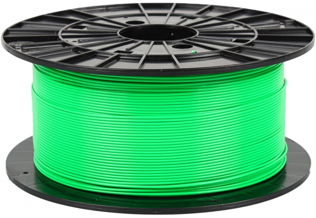 PLA - fluorescent green (1,75 mm; 1 kg)