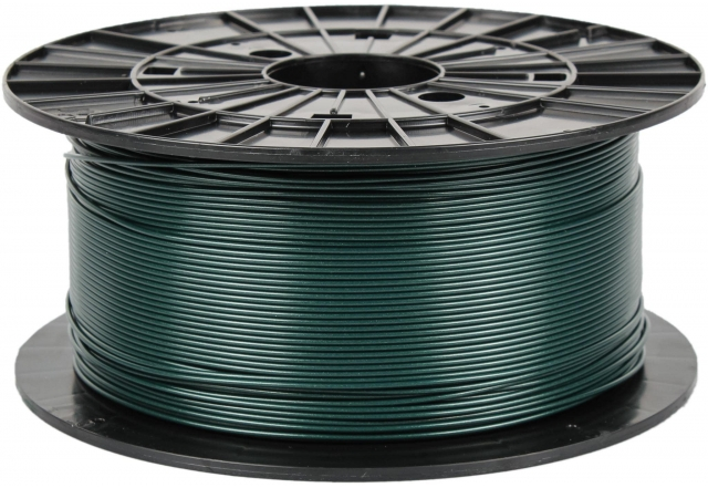 PLA - metallic green (1,75 mm; 1 kg)