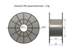 ASA - brown (1,75 mm; 0,75 kg)