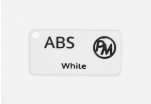 Sample ABS - white (1,75 mm; 10 m)