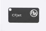 Sample PETG CFJet carbon - black (1,75 mm; 10 m)