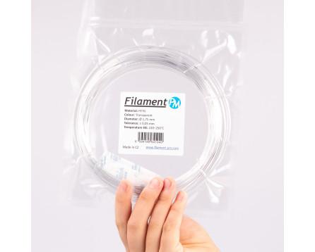 Sample PETG - transparent (1,75 mm; 10 m)