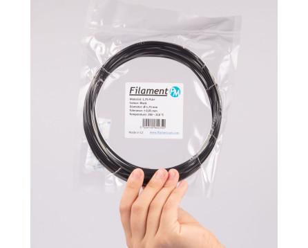 Sample PLA+ - black (1,75 mm; 10 m)
