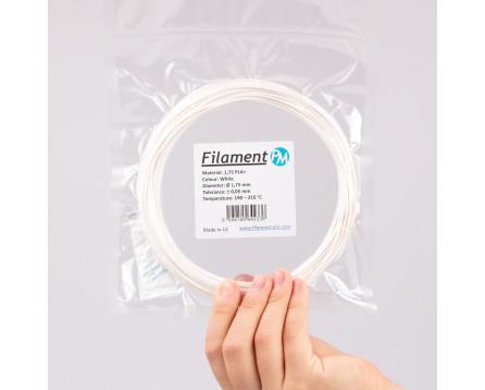 Sample PLA+ - white (1,75 mm; 10 m)