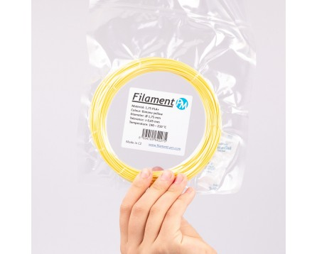 "Sample PLA+ - ""Banana Yellow"" (1,75 mm; 10 m)"