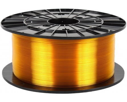 PETG - transparent yellow (1,75 mm; 1 kg)
