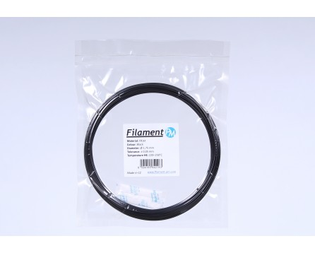 Sample PETG FRJet self-extinguishing - black (1,75 mm; 10 m)